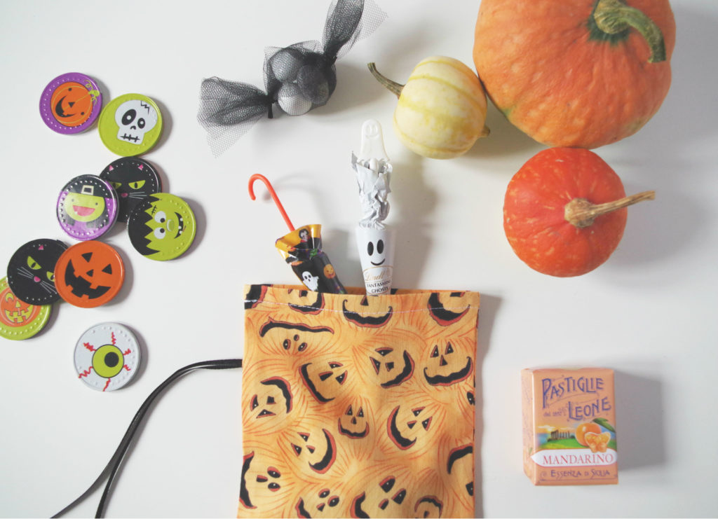 DIY Halloween Candy Bag Treats