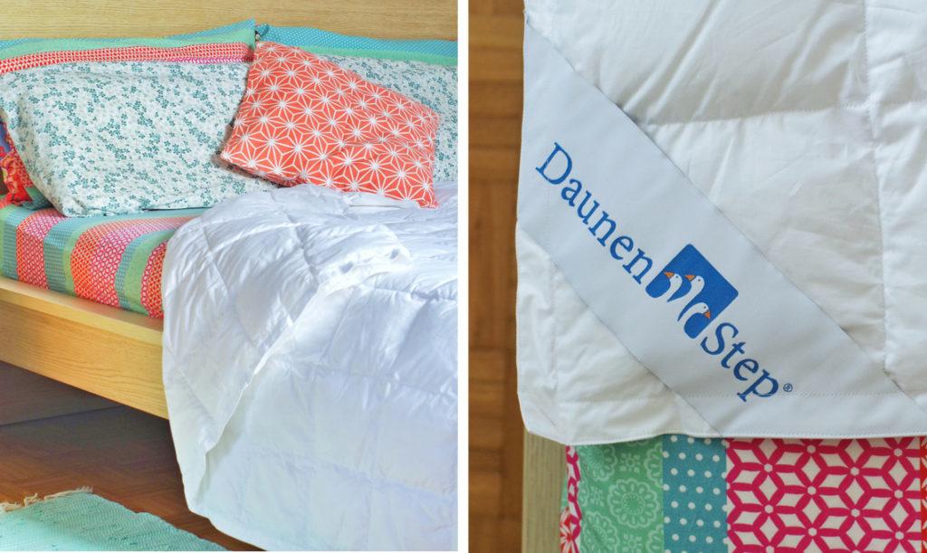 Dormire al caldo con DaunenStep