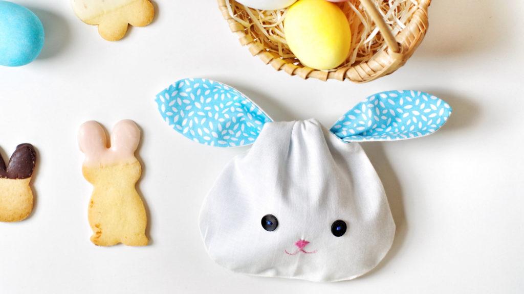Coniglietti di stoffa per Pasqua_coniglio