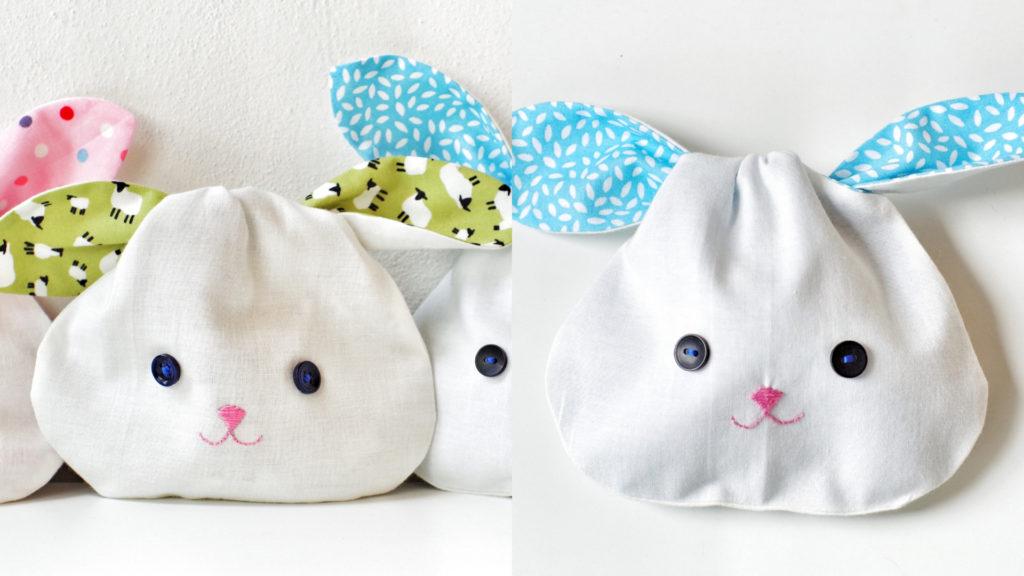 Coniglietti di stoffa per Pasqua_dettaglio