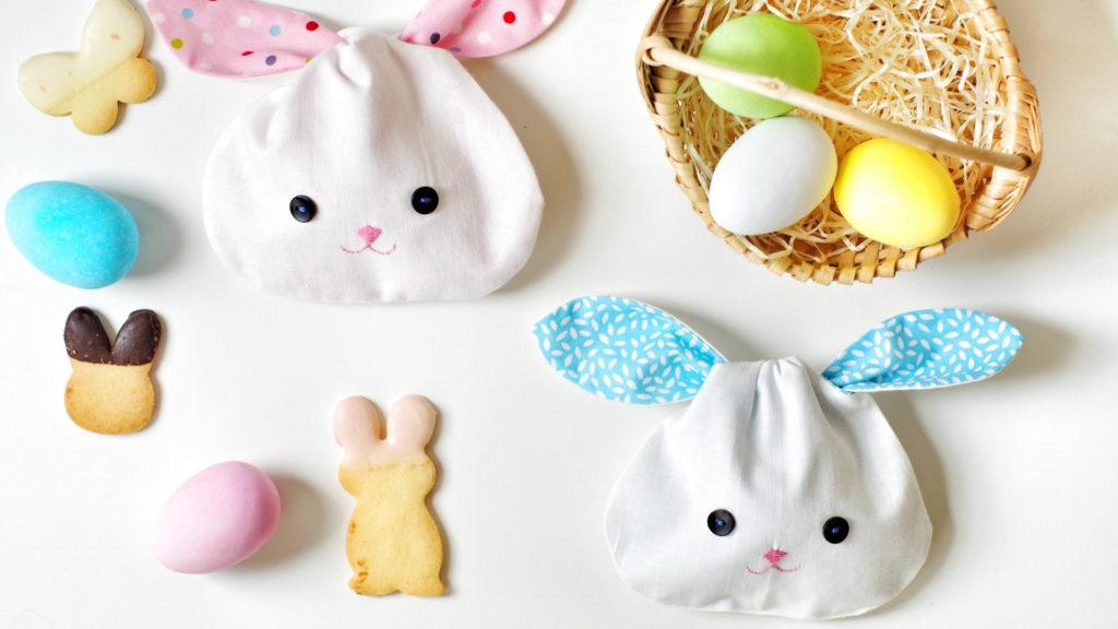 Coniglietti di stoffa per Pasqua_styling