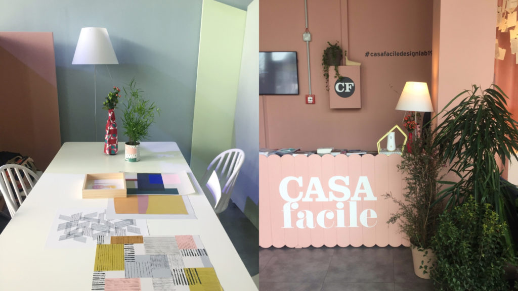 That's Monique al Casa Facile Design Lab 2019_co-working